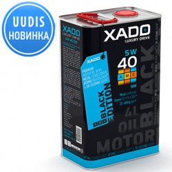 XADO LX AMC Black Edition 5W-40 SM/CF 4L